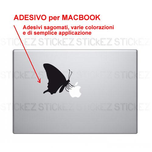 Adesivo Apple Farfalla