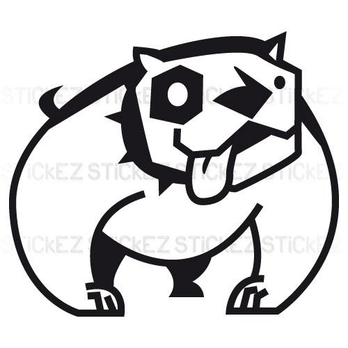 Bull Dog stilizzato