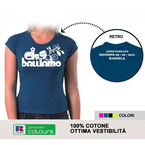 T-shirt Addio al Nubilato - Cisballiamo