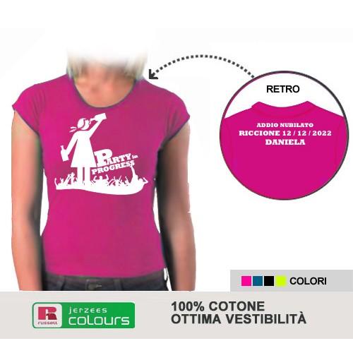 T-shirt Addio al Nubilato - Party